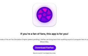 [Mac] FanFan :苹果Apple Silicon电脑模拟风扇声的软件