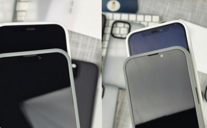 iPhone 13 VS iPhone 12刘海对比图流出