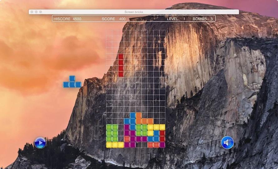 [Mac] 桌面方块 :俄罗斯方块游戏