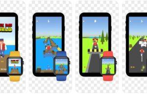 [iPhone/iPad限免] Block Run World :乐高风格方块人跑酷游戏
