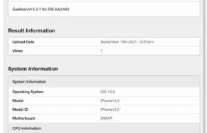 iPhone 13 Pro的GPU测试比iPhone 12 Pro提高了55%