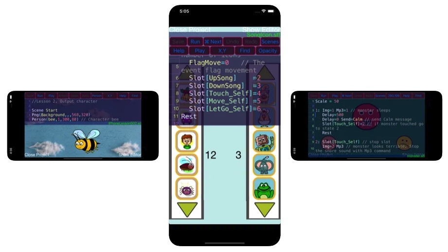[iPhone/iPad限免] Game Pilot Designer :儿童学习游戏编程软件