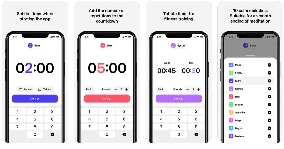 [iPhone限免] SilenTimer :实用的倒计时计时器软件