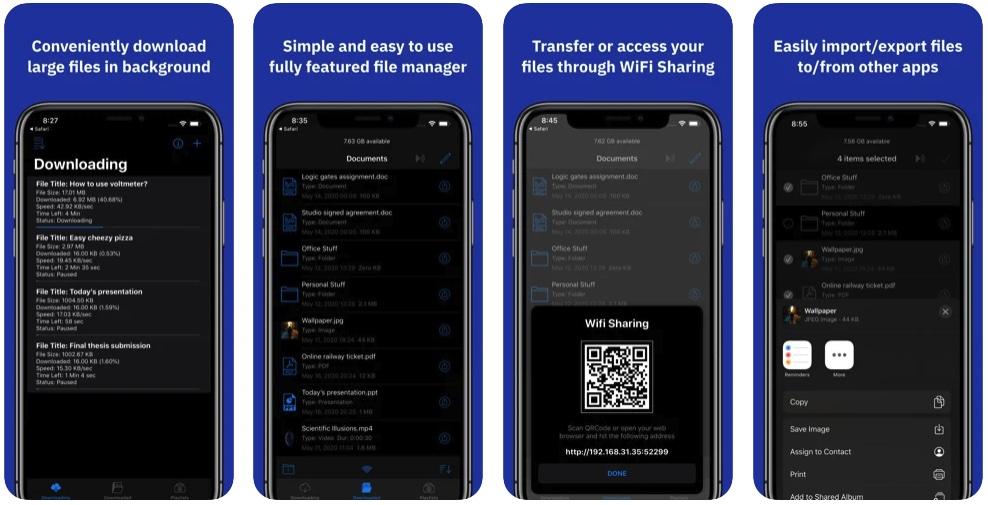 [iPhone/iPad限免] MZFileManager :文件下载及文件管理器