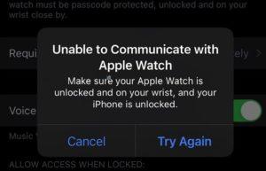 苹果将推出软件更新修复解决iPhone 13无法使用Apple Watch解锁问题