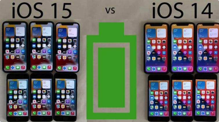 想知道iOS 15耗电吗?iOS 15与iOS 14.8真实耗电测试对比来了