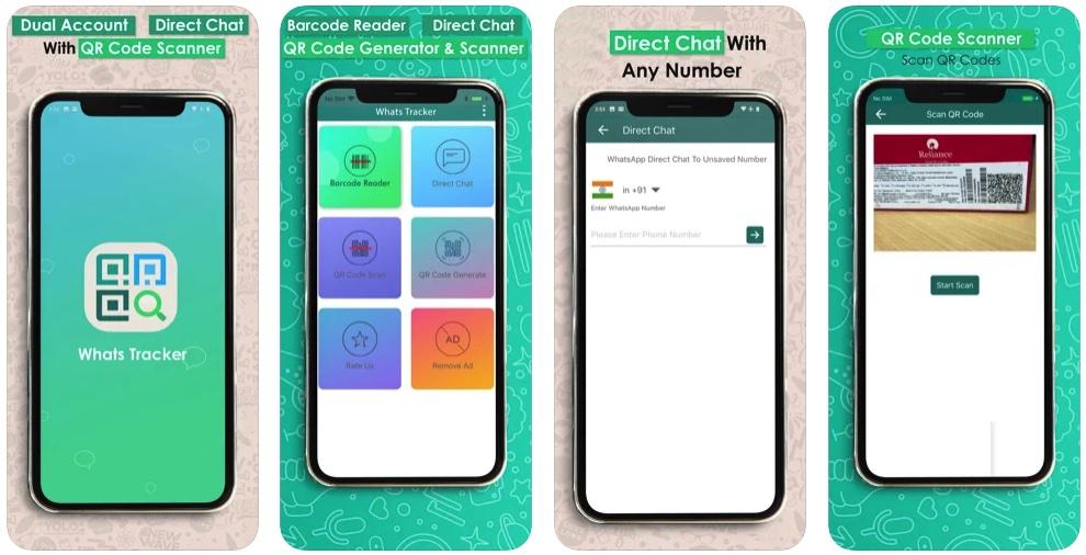 [iPhone/iPad限免] Whats Tracker :二维码生成及扫描读取工具