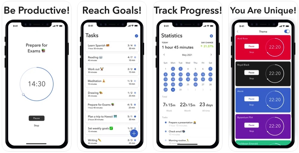 [Mac/iPhone/iPad限免] Move On : 提高效率的计时器工具