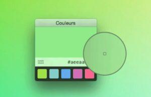 [Mac] Couleurs :小巧好用的取色工具