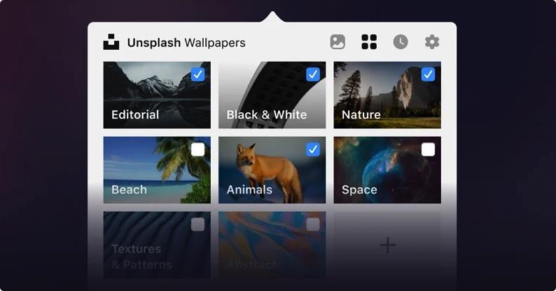 [Mac] Unsplash Wallpapers :Unsplash官方桌面壁纸工具