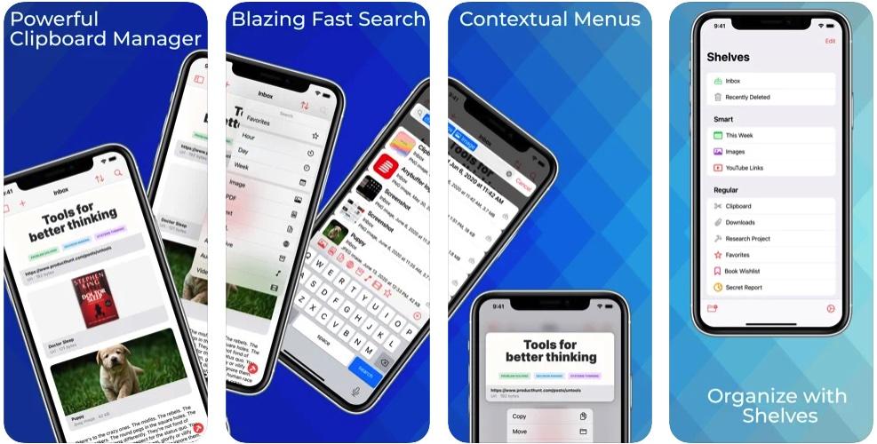 [Mac/iPhone/iPad限免] Anybuffer :强大的剪贴板管理器