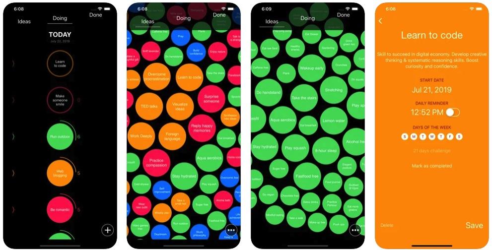 [iPhone/iPad限免] Simple Habit Tracker :培养良好习惯的辅助工具