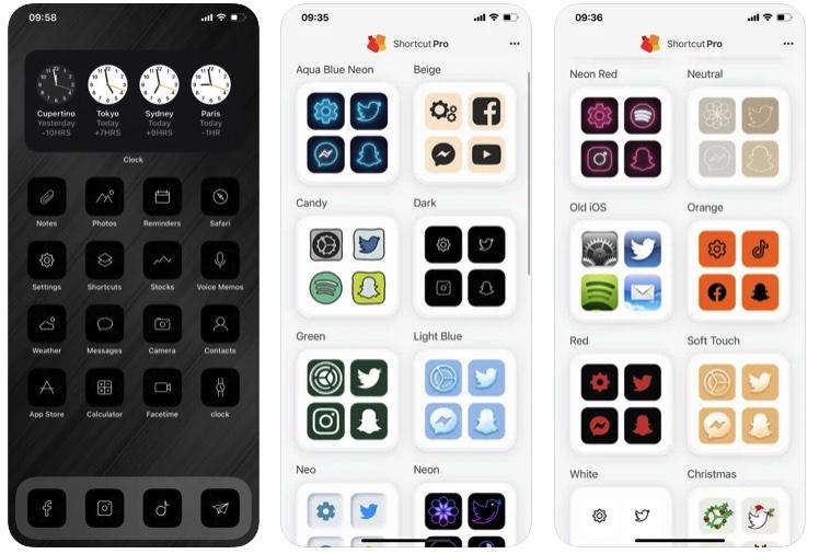 [iPhone限免] Shortcut Pro :iPhone图标主题更换工具