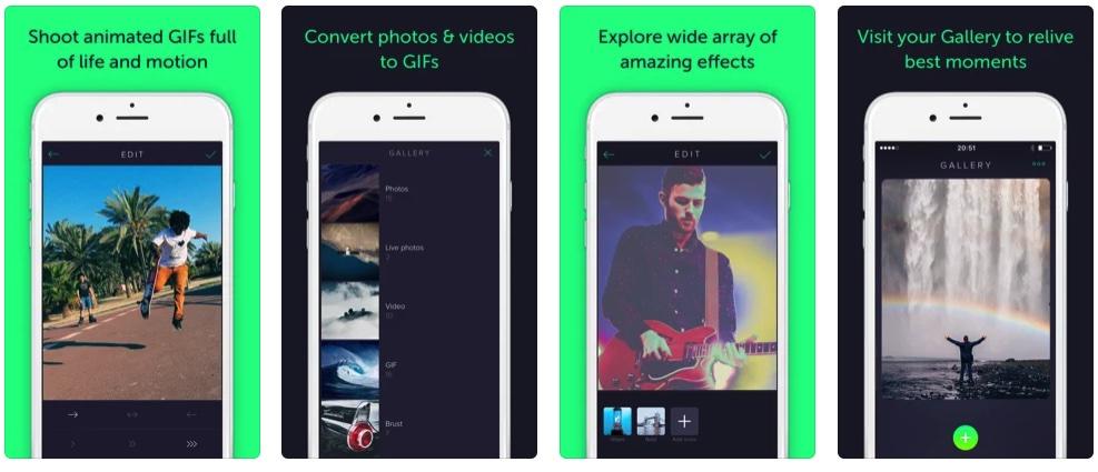 [iPhone/iPad限免] Gifstory :照片转换为GIF动画工具