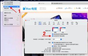 如何让Safari 15不自动跟随标签页面显示颜色