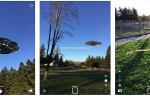 [iPhone/iPad限免] Augmented Reality UFO Stickers :UFO风格AR相机应用