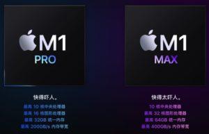 14寸及16寸M1 Pro/ Max MacBook Pro正式发布:新功能新特性一览