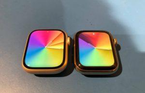 Apple Watch S7与S6实物对比:直观感受屏幕大小区别